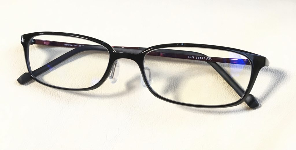Zoffの1万したブルーライトカットメガネ