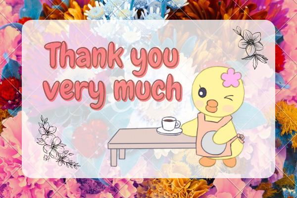 読者さんへ長文を読んでくれてありがとうございます